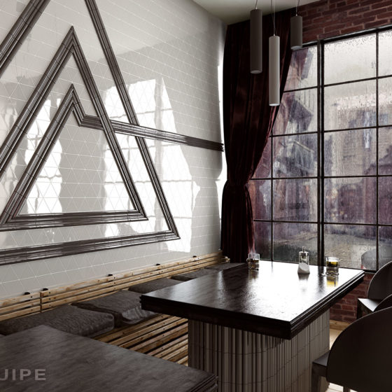 Scale Triangolo Mint / Evolution London, Torello, Pencil Bullnose Dark Grey