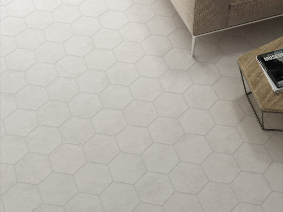 Hexatile Cement White