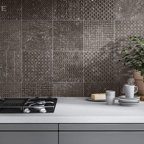 Coralstone Gamut Black 20x20