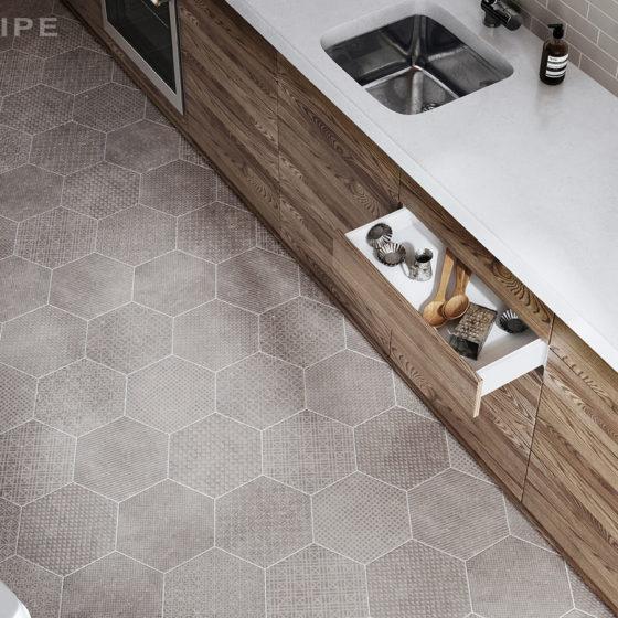 Coralstone Hexa Melánge Grey