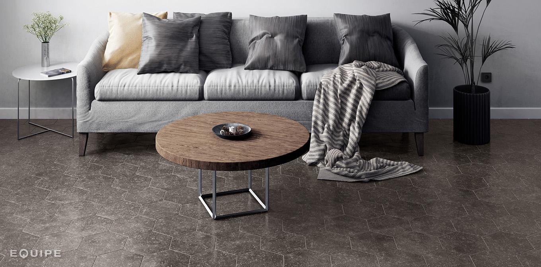 Coralstone Hexa Black