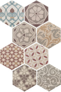 Hexatile Harmony Colours