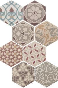 Hexatile Harmony Colours