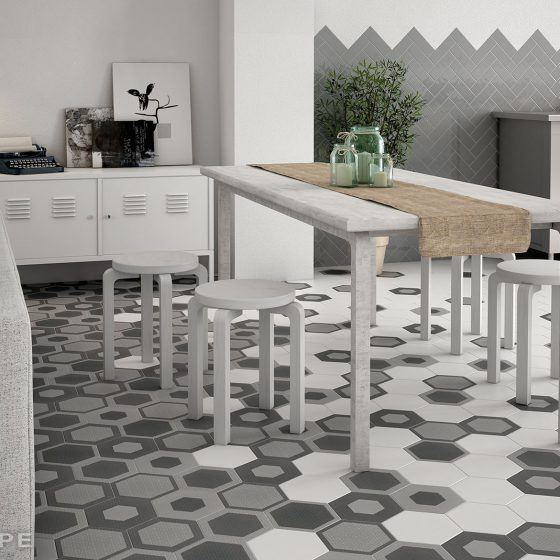Hexatile Charmant / Country Grey