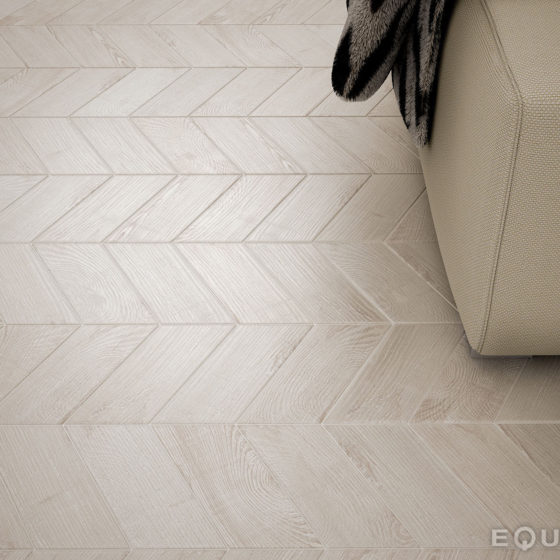 Hexawood Chevron Grey