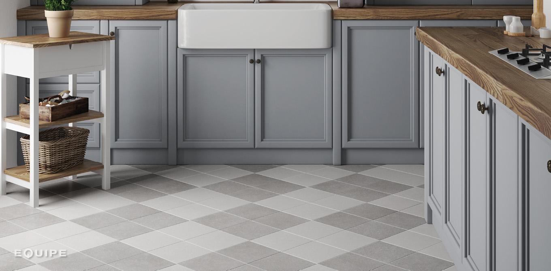 Micro White, Grey 20x20