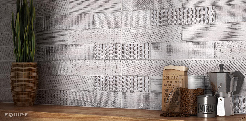 Splendours Fabric Grey 7,5x30