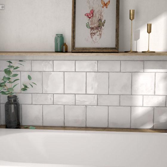 Splendours White 7,5x15, 15x15