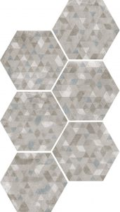 Urban Forest hex silver