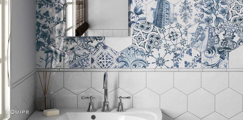 Hexatile Lisboa / Hexatile White