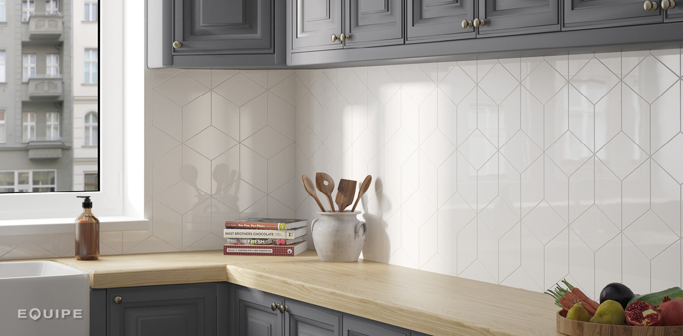Rhombus Wall Cream
