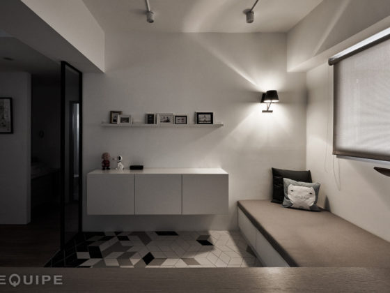 Equipe - Taichung Apartment (Rhombus Pav. by Z Axis Design