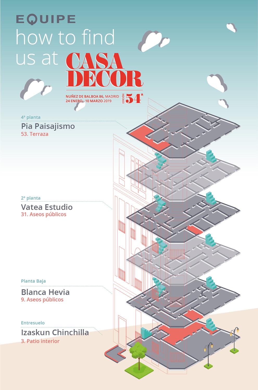 Casadecor 2019 - Infografía