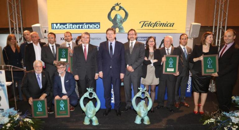 Entrega premios Empresa del año 2018