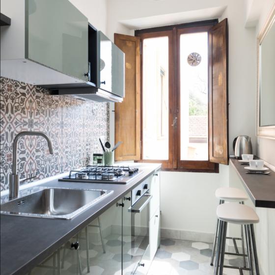 Hortum Apartment - Hexatile, Art Nouveau Kitchen