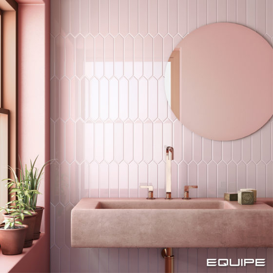 Arrow Blush Pink 5x25cm