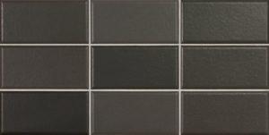 Matelier Volcanic Black 7,5x15cm
