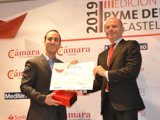 Premio PYME del año - Camara Comercio