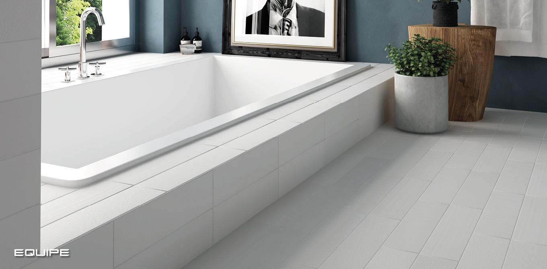 Babylone Jasmine White - Floor Tile