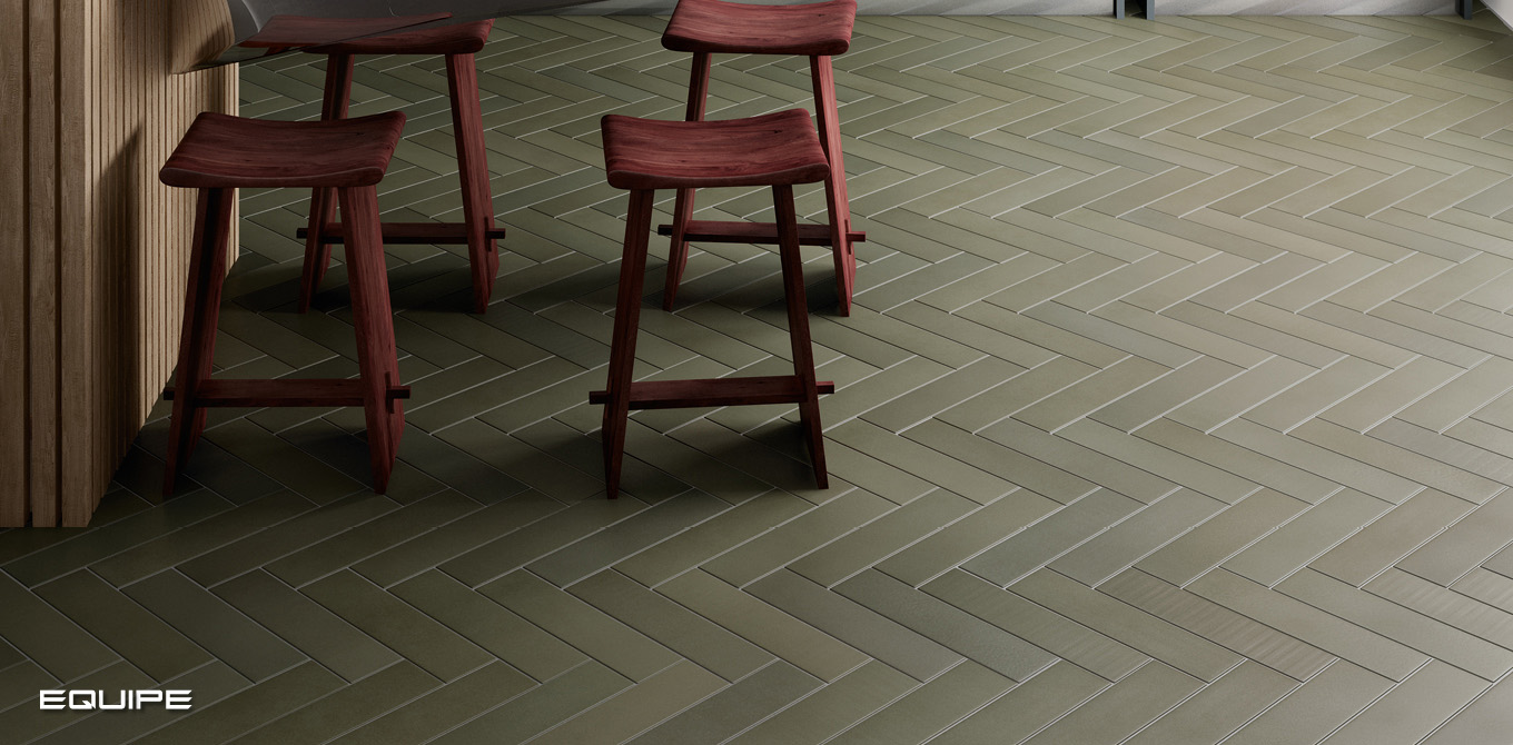 Babylone Pewter Green - Floor Tile