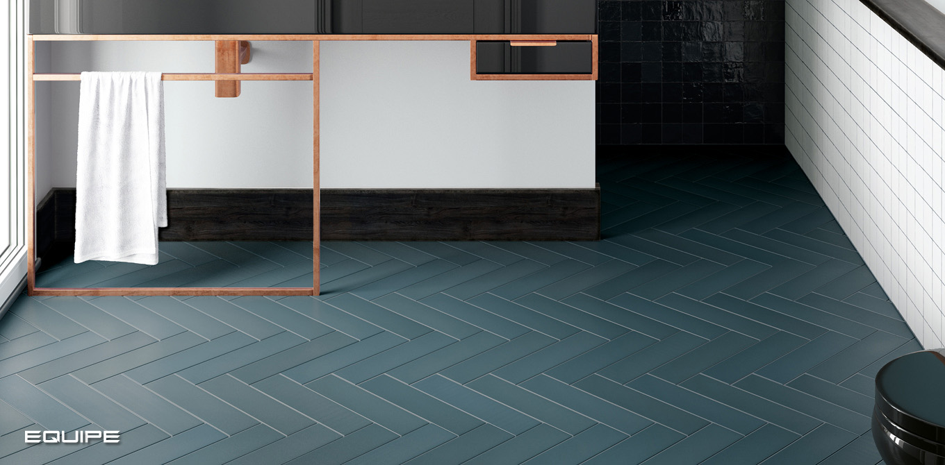 Babylone Space Blue - Floor tile