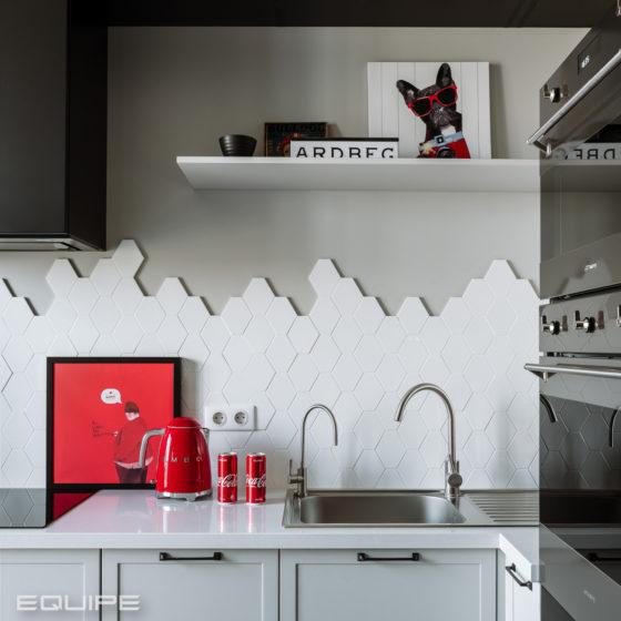 Etude Family Club Kitchen - Equipe Ceramicas