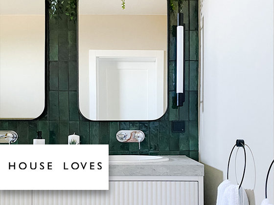 House Love - Artisan Green and Kite Bath