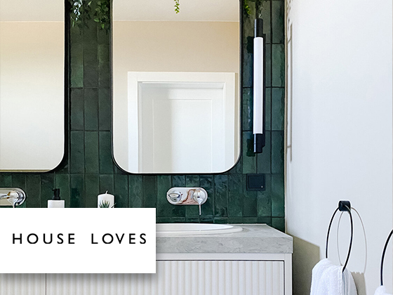 House Love - Artisan Green and Kite Bath