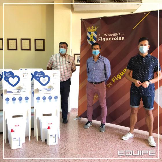 Equipe Cerámicas - Punto de higiene - Figueroles