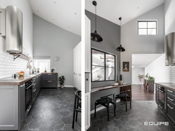 Ointerior - Scandinavian Duplex - Kitchen