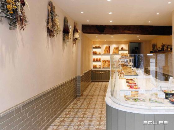 Boulangerie Yvan - Equipe Ceramicas - Art Nouveau - Masia