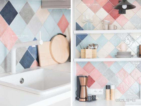 Equipe Ceramicas - Cocina - Colección Artisan / Hall Rhombus