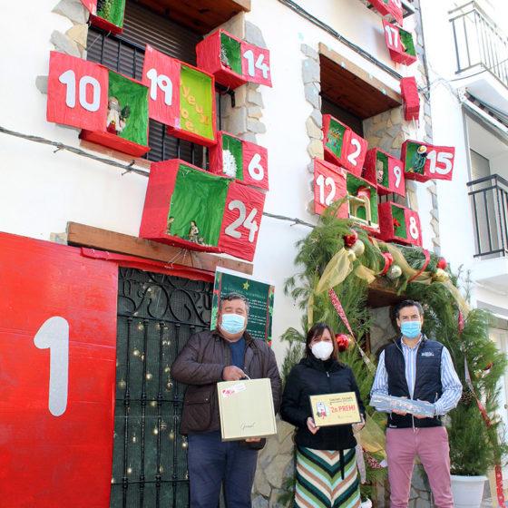 Segundo premio concurso de Fachadas Navideñas de Figueroles