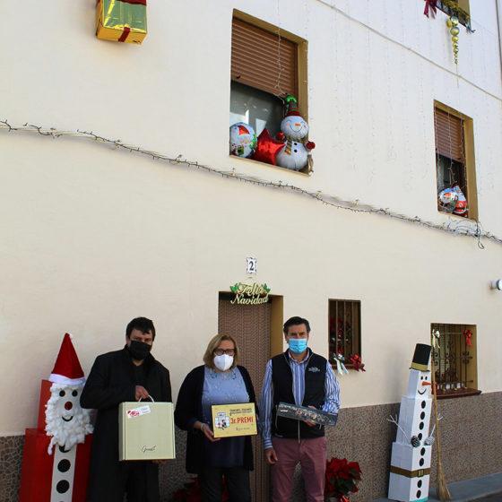 Tercer premio concurso de Fachadas Navideñas de Figueroles