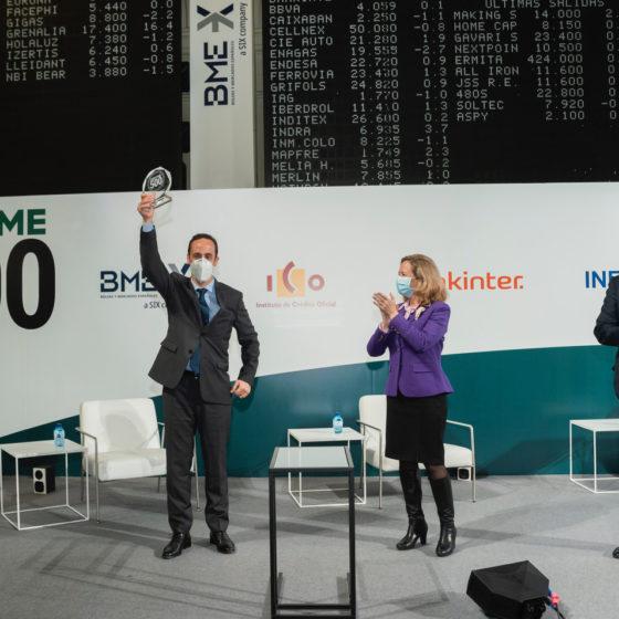 Cepyme500 - Recogida de premio 2020