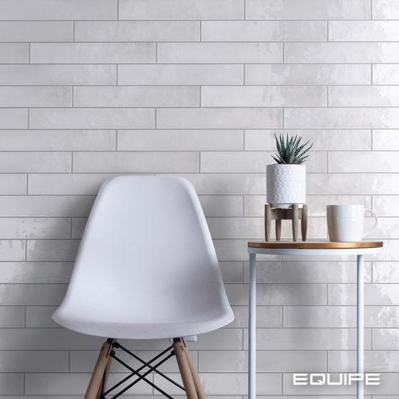 Manacor White 6,5x40 cm