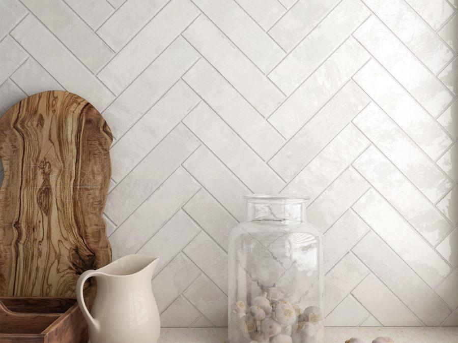 Tribeca Gypsum White 6x24,6 cm