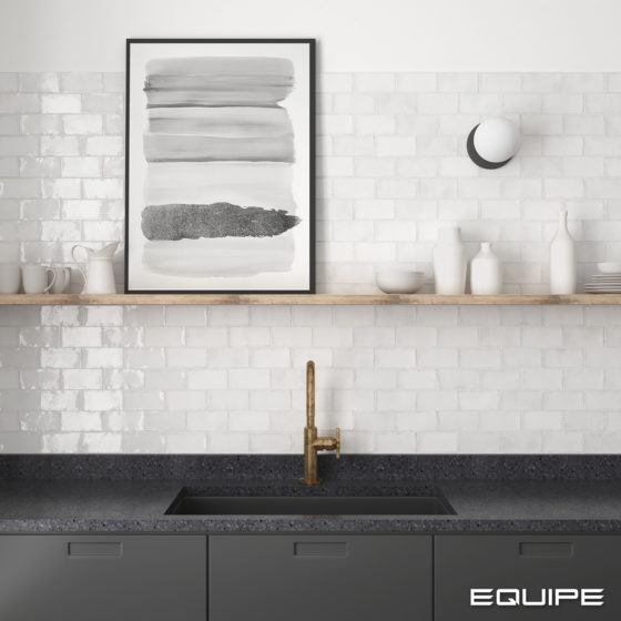Altea White 7,5x15 cm
