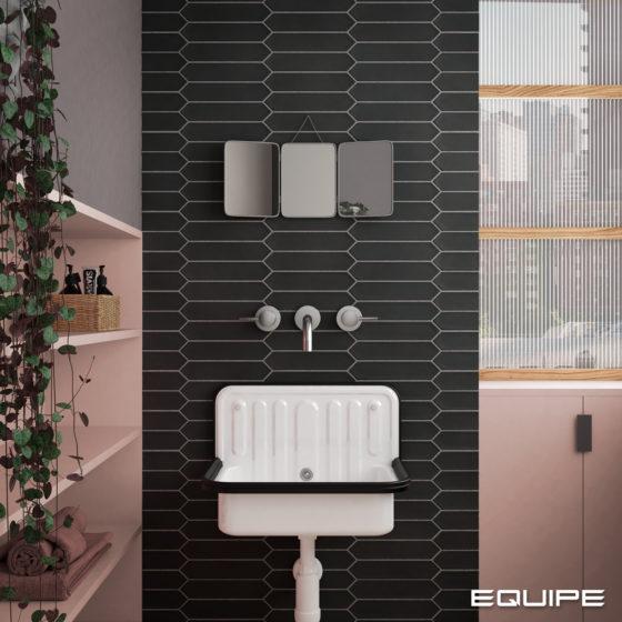 Lanse Black Bathroom