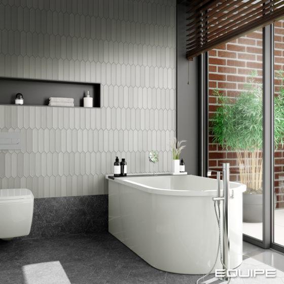 Lanse Gray Bathroom
